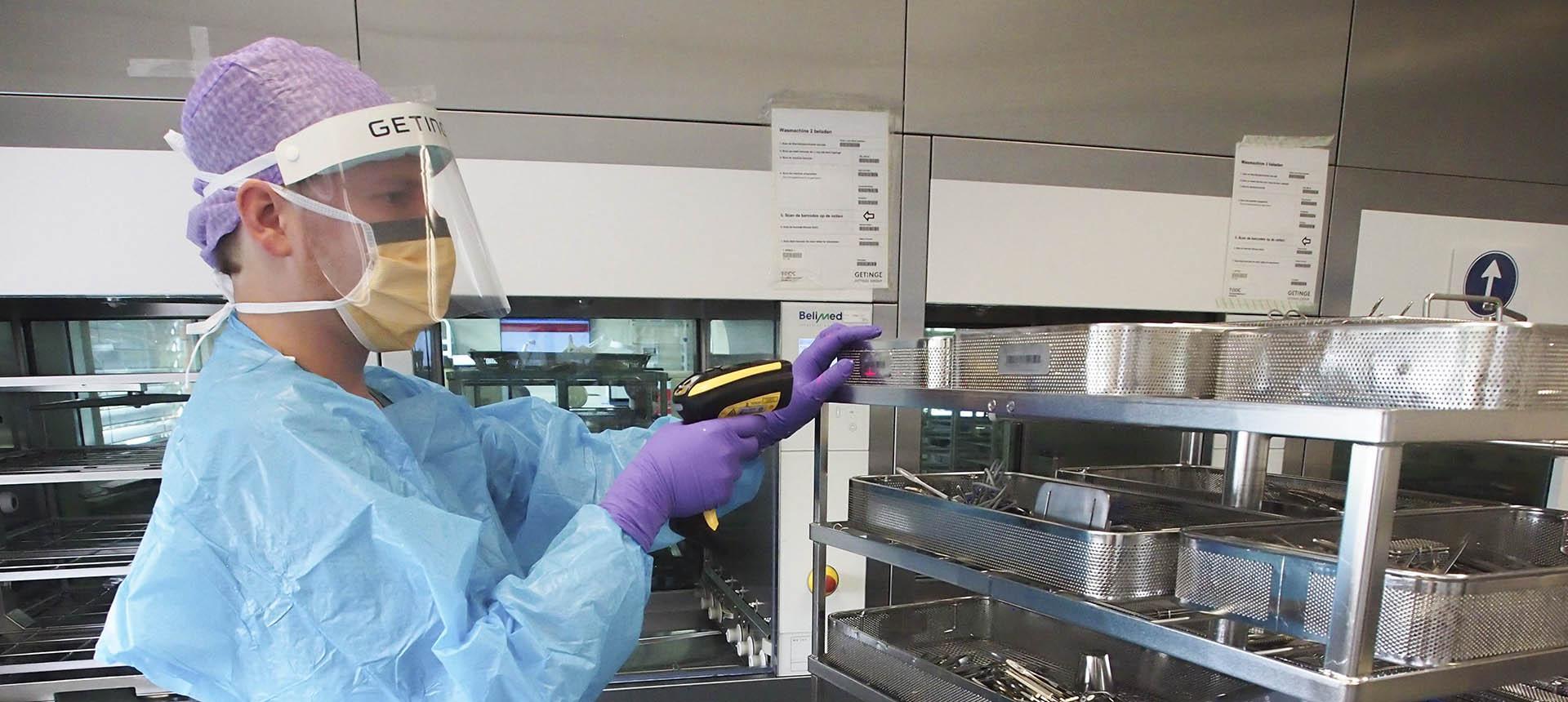 Bijscholing voor sterilisatiemedewerkers