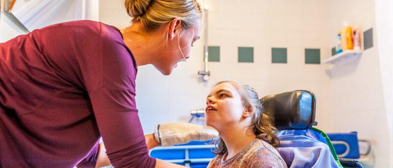 Begeleider gehandicaptenzorg
