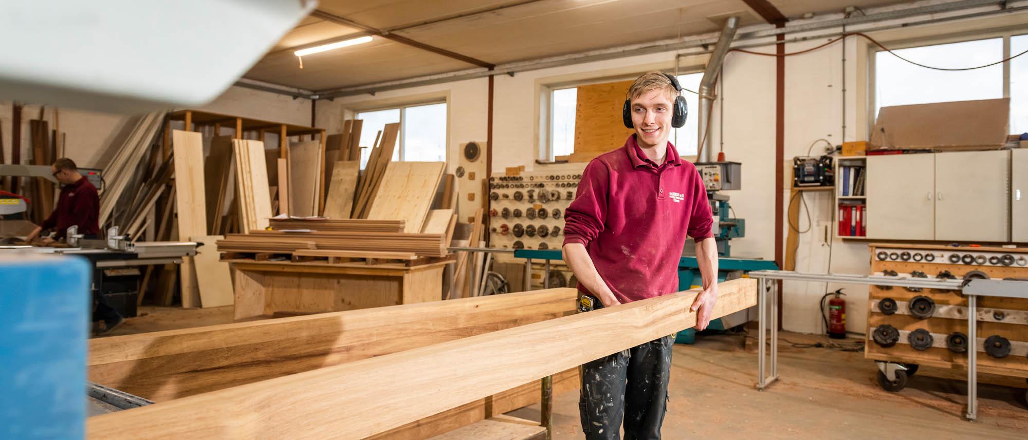 Machinale houtbwerking