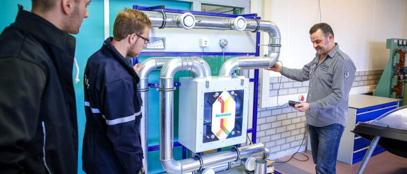 Eerste monteur werktuigkundige installaties utiliteit