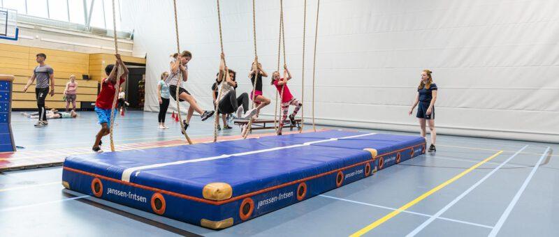 Sportinstructie voor kinderen van 4 -12 jaar