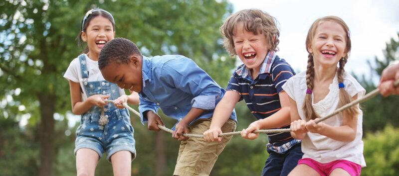 Sportinstructie en activiteiten voor kinderen van 4-12 jaar