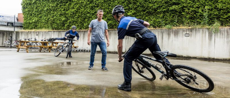 Bike-training voor handhavers
